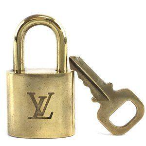 Louis Vuitton Gold Keepall Speedy Lock Key Set#300